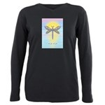LGLG-Dragonfly1 Plus Size Long Sleeve Tee