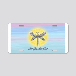 LGLG-Dragonfly1 Aluminum License Plate