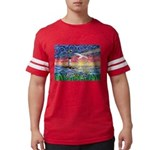 Lighthouse Seagull Mens Football Shirt