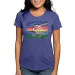Lighthouse Seagull Womens Tri-blend T-Shirt