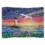 Lighthouse Seagull Pillow Sham