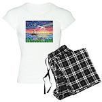 Lighthouse Seagull Women's Light Pajamas