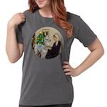 R-Xmas-WMom-BabyLlama Womens Comfort Colors Shirt