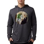 R-Xmas-WMom-BabyLlama Mens Hooded Shirt