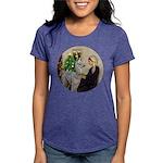 R-Xmas-WMom-BabyLlama Womens Tri-blend T-Shirt