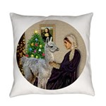 R-Xmas-WMom-BabyLlama Everyday Pillow