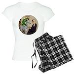 R-Xmas-WMom-BabyLlama Women's Light Pajamas