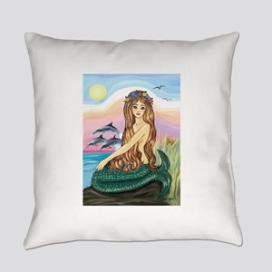 TILE-Mermaid by JBF Everyday Pillow