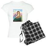 TILE-Mermaid by JBF Women's Light Pajamas