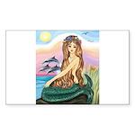 TILE-Mermaid by JBF Sticker (Rectangle 50 pk)