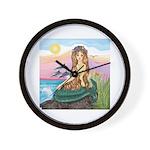 TILE-Mermaid by JBF Wall Clock