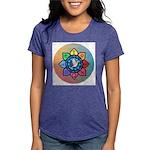 Many Paths to One God Womens Tri-blend T-Shirt