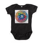 Many Paths to One God Baby Bodysuit