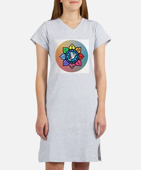 Many Paths to One God Women's Nightshirt