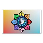 Many Paths to One God Sticker (Rectangle 50 pk)