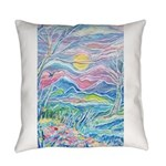 Pastel Country A (Enc) Everyday Pillow