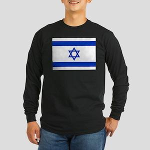 Israel Flag Long Sleeve T-Shirt