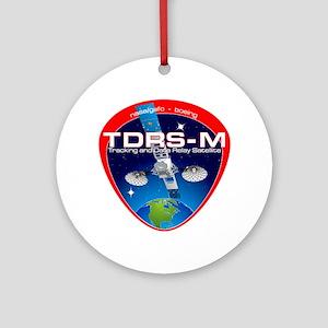 TDRS-M Logo Round Ornament