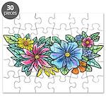 Flower Spray #1 Puzzle