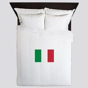 Italy Flag Queen Duvet