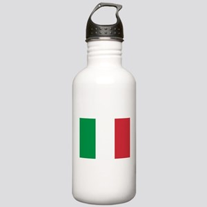 Italy Flag Water Bottle