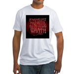 Seven Sins Fitted T-Shirt