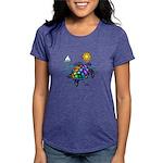 Sea Turtle Womens Tri-blend T-Shirt