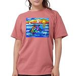 SeaTurtle 8 - MP Womens Comfort Colors Shirt