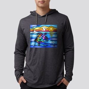 SeaTurtle 8 - MP Mens Hooded Shirt