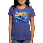 SeaTurtle 8 - MP Womens Tri-blend T-Shirt