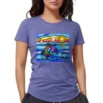 SeaTurtle 8 - MP Womens Tri-blend T-Shirt