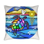 SeaTurtle 8 - MP Everyday Pillow