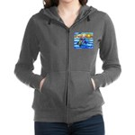 SeaTurtle 8 - MP Women's Zip Hoodie
