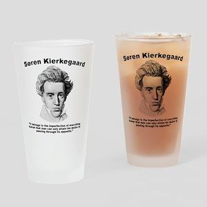 Kierkegaard Desire Drinking Glass