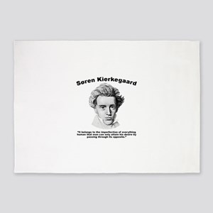 Kierkegaard Desire 5'x7'Area Rug