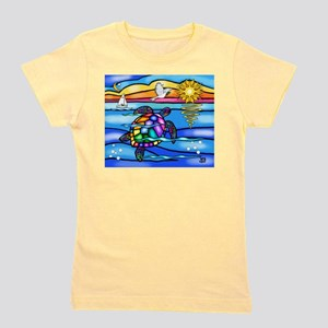 SeaTurtle 8 - MP Girl's Tee