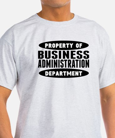 Property Of Business Administration Department T-S
