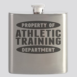Property Of Athletic Training Department Flask