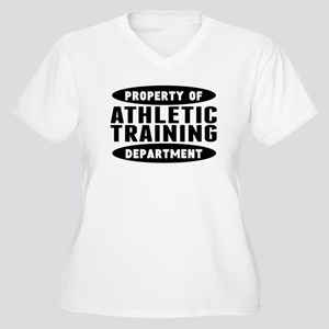 Property Of Athletic Training Department Plus Size