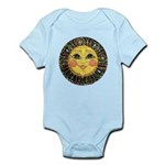 PLATE-SunFace-Black-rev Baby Light Bodysuit