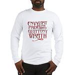 Seven Sins Long Sleeve T-Shirt