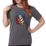 Harrell Coat of Arms Womens Comfort Colors Shirt
