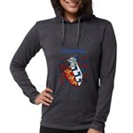 Harrell Coat of Arms Womens Hooded Shirt