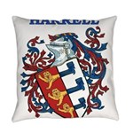 Harrell Coat of Arms Everyday Pillow