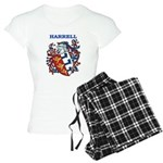 Harrell Coat of Arms Women's Light Pajamas