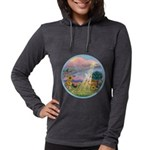 With us always. Womens Hooded Shirt