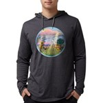 With us always. Mens Hooded Shirt