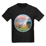 With us always. Kids Dark T-Shirt