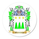 Montelongo Round Car Magnet