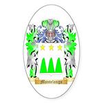 Montelongo Sticker (Oval)